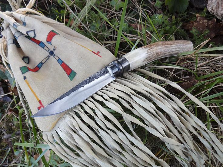 Couteau pliant bois de cerf